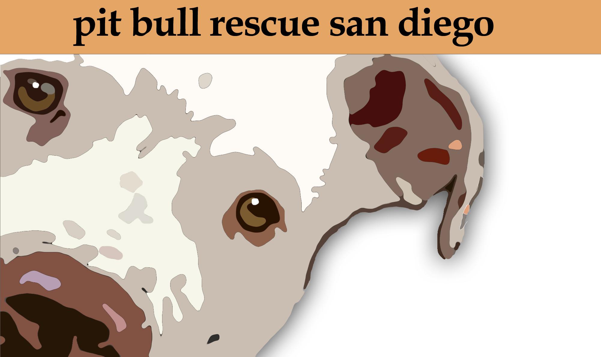 Pit Bull Rescue San Diego Logo